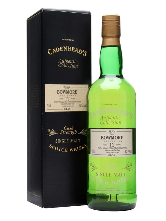 Bowmore 1983 / 12 Year Old / Cadenhead's Islay Whisky