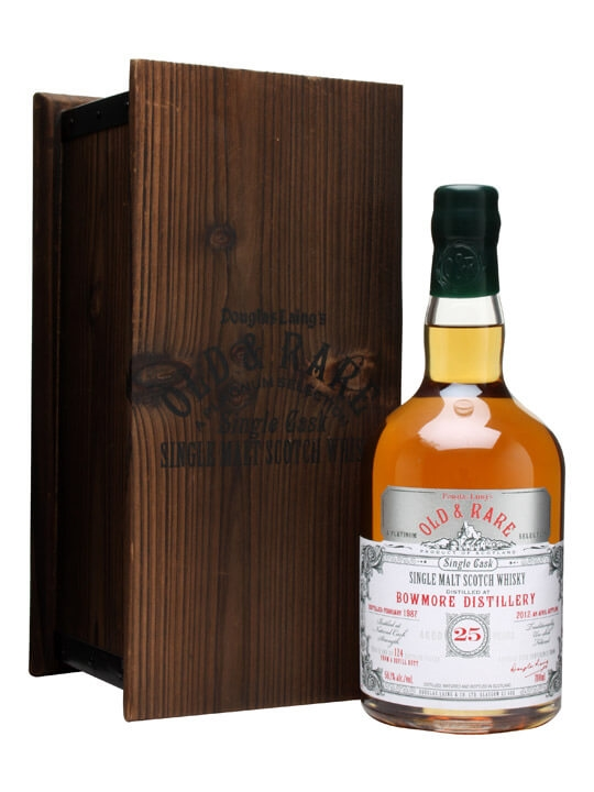 Bowmore 1987 / 25 Year Old / Douglas Laing Platinum Islay Whisky