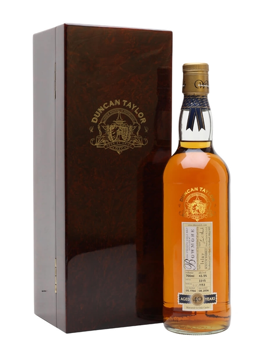 Bowmore 1966 / 40 Year Old / Cask #3315 Islay Whisky