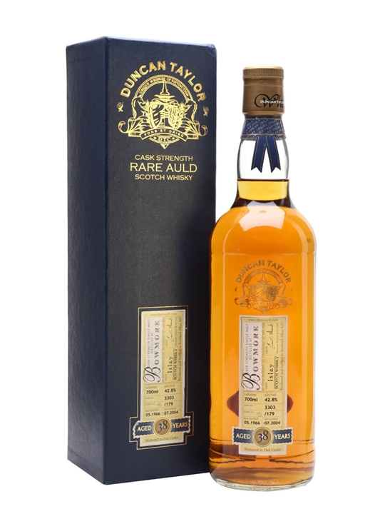Bowmore 1966 / 38 Year Old / Cask #3303 Islay Whisky