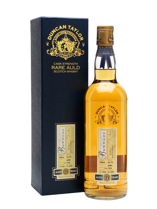 Bowmore 1969 / 35 Year Old / Cask #6089 Islay Whisky