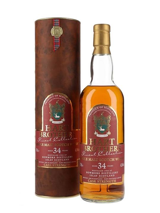 Bowmore 1966 / 34 Year Old / Hart Brothers Islay Whisky