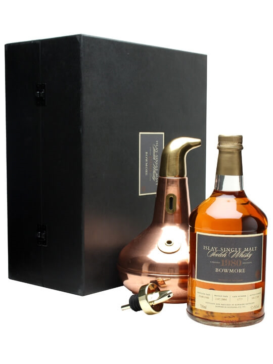 Bowmore 1980 + Copper Pot Still Islay Single Malt Scotch Whisky