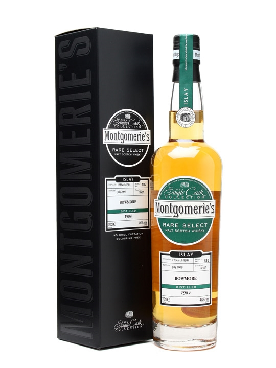 Bowmore 1984 / Cask #m427 / Montgomerie's Islay Whisky