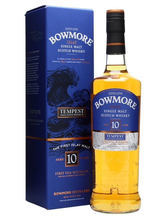 Bowmore Tempest / 10 Year Old / Batch 4 Islay Whisky
