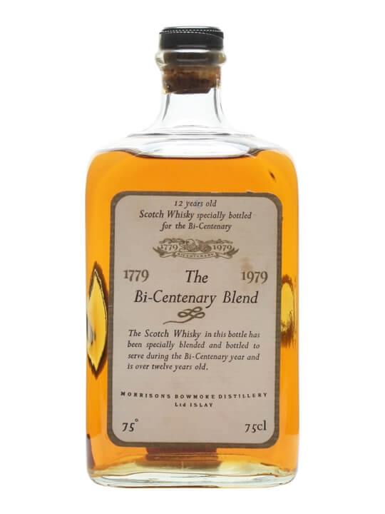 Bowmore 12 Year Old Bicentenary Blend Blended Scotch Whisky
