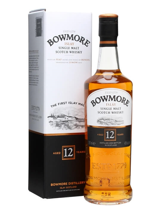 Bowmore 12 Year Old / Half Bottle Islay Single Malt Scotch Whisky