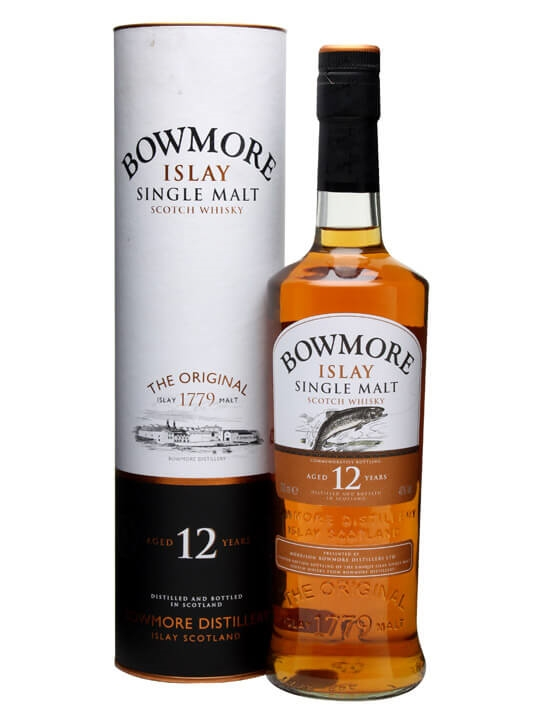 Bowmore 12 Year Old / Fly Fising Islay Single Malt Scotch Whisky
