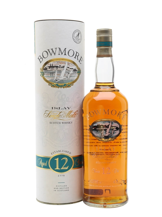 Bowmore 12 Year Old / Litre Islay Single Malt Scotch Whisky