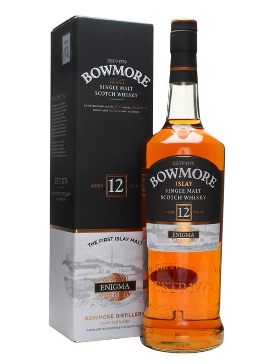 Bowmore 12 Year Old / Enigma Islay Single Malt Scotch Whisky