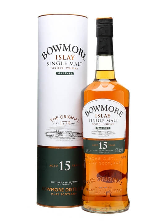 Bowmore 15 Year Old / Mariner Islay Single Malt Scotch Whisky