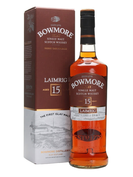 Bowmore 15 Year Old / Laimrig Islay Single Malt Scotch Whisky