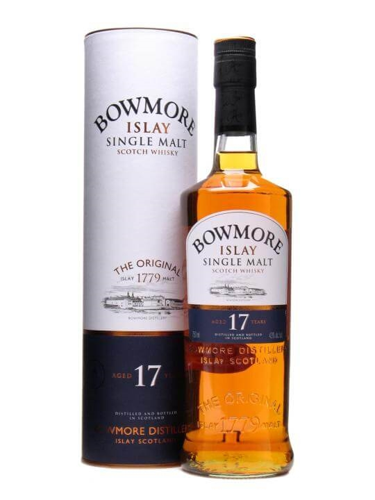 Bowmore 17 Year Old Islay Single Malt Scotch Whisky