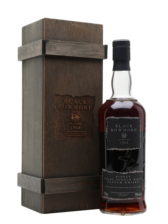 Black Bowmore 1964 / 30 Year Old / 2nd Edition Islay Whisky