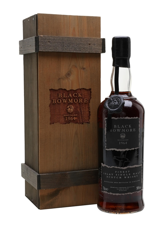 Black Bowmore 1964 / 29 Year Old / 1st Edition Islay Whisky