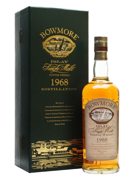 Bowmore 1968 / 32 Year Old Islay Single Malt Scotch Whisky