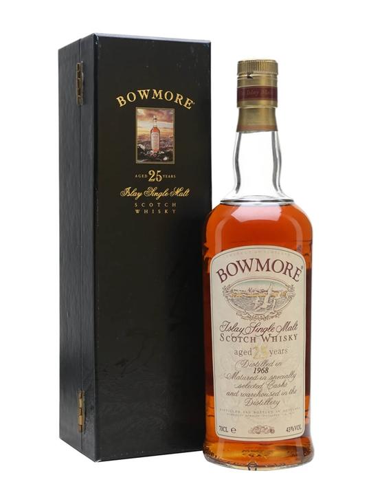 Bowmore 1968 / 25 Year Old Islay Single Malt Scotch Whisky