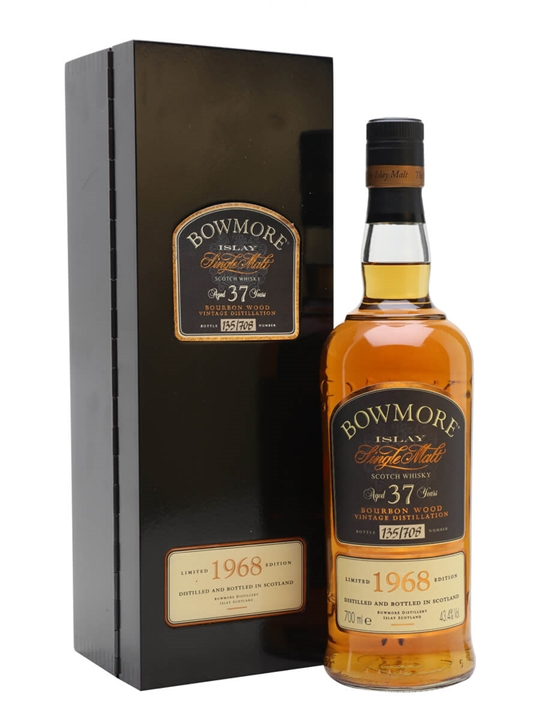 Bowmore 1968 / 37 Year Old / Bourbon Wood Islay Whisky