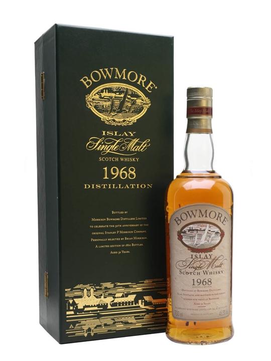 Bowmore 1968 / 32 Year Old / 50th Anniversary Islay Whisky