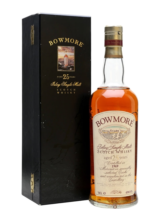 Bowmore 1969 / 25 Year Old Islay Single Malt Scotch Whisky