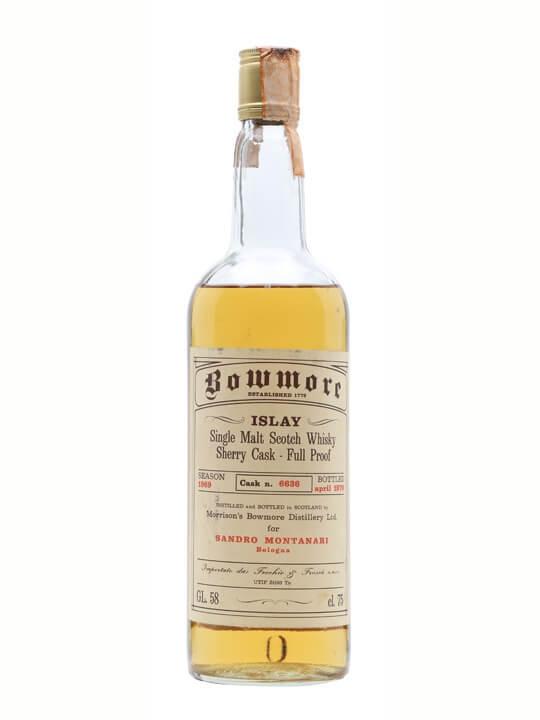 Bowmore 1969 / Bot.1978 / Sherry Cask #6636 Islay Whisky