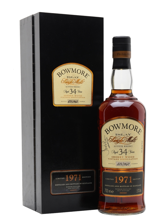 Bowmore 1971 / 34 Year Old / Sherry Cask Islay Whisky