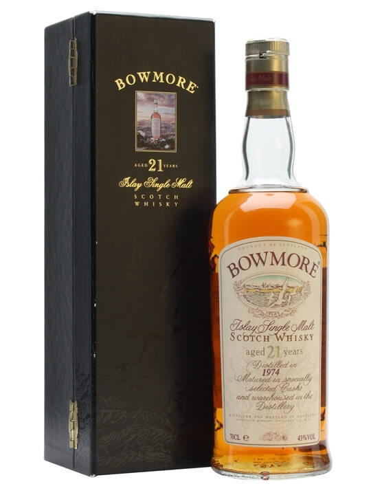 Bowmore 1974 / 21 Year Old Islay Single Malt Scotch Whisky