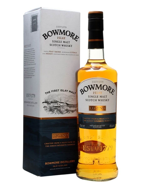 Bowmore Legend Islay Single Malt Scotch Whisky