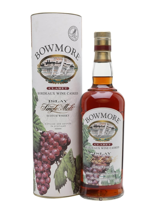 Bowmore Claret / Bordeaux Wine Cask Islay Single Malt Scotch Whisky