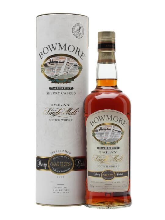 Bowmore Darkest / Sherry Cask Finish Islay Single Malt Scotch Whisky