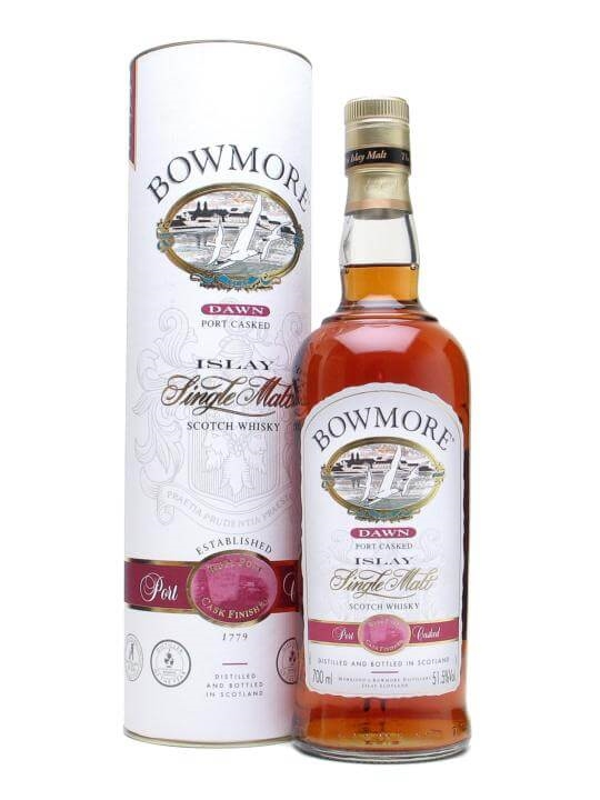 Bowmore Dawn / Port Wood Finish Islay Single Malt Scotch Whisky