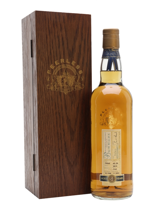 Bowmore 1968 / 34 Year Old / Cask #3819 Islay Whisky