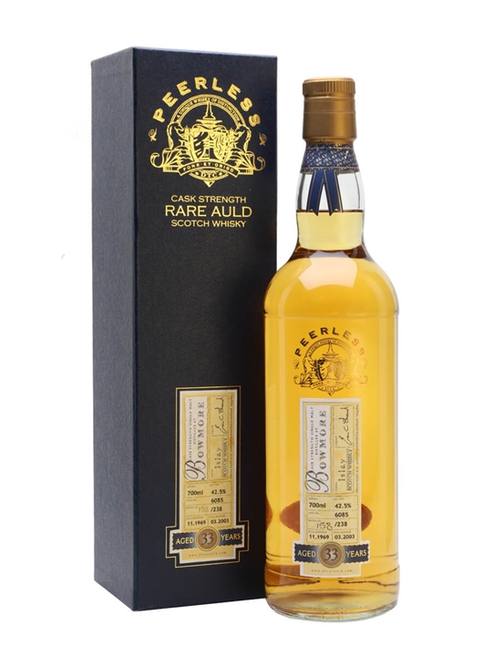 Bowmore 1969 / 33 Year Old / Cask #6085 Islay Whisky