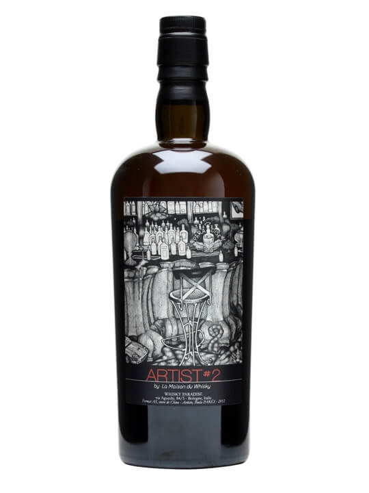 Bowmore 1974 / Artist #2 / Cask #3841 Islay Single Malt Scotch Whisky