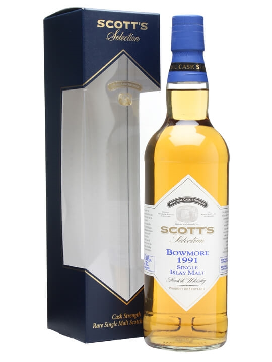 Bowmore 1991 / Scott's Selection Islay Single Malt Scotch Whisky