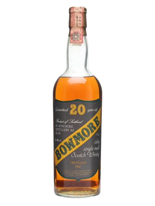 Bowmore 1965 / 20 Year Old / Sestante Islay Single Malt Scotch Whisky