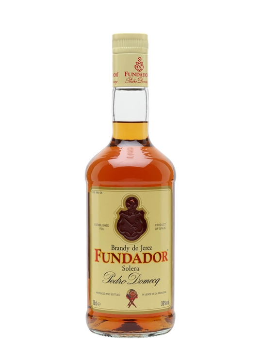 Fundador Solera Reserva / Spanish Brandy Grape Brandy
