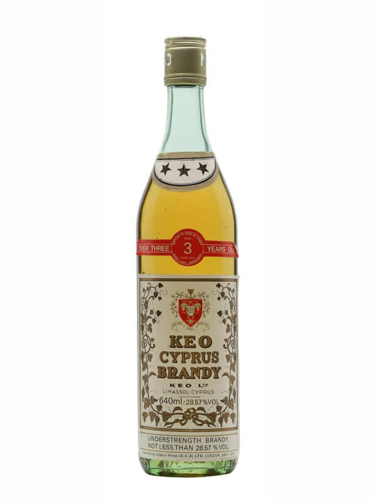 Keo 3 Star 3 Year Old Cyprus Brandy