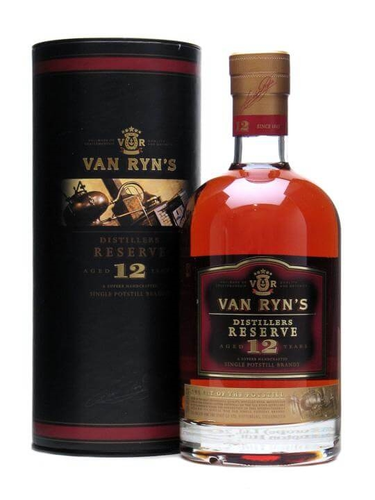 Van Ryn's 12 Year Old Distiller's Reserve Brandy