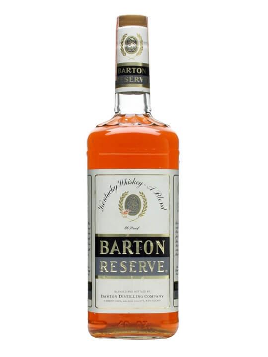 Barton Reserve / Bot.1970s Blended American Whiskey