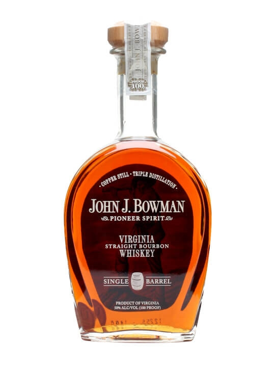 John J Bowman Virginia Bourbon Whiskey