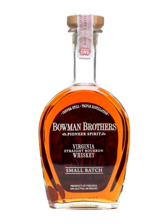 Bowman Brothers Virginia Straight Bourbon Whiskey