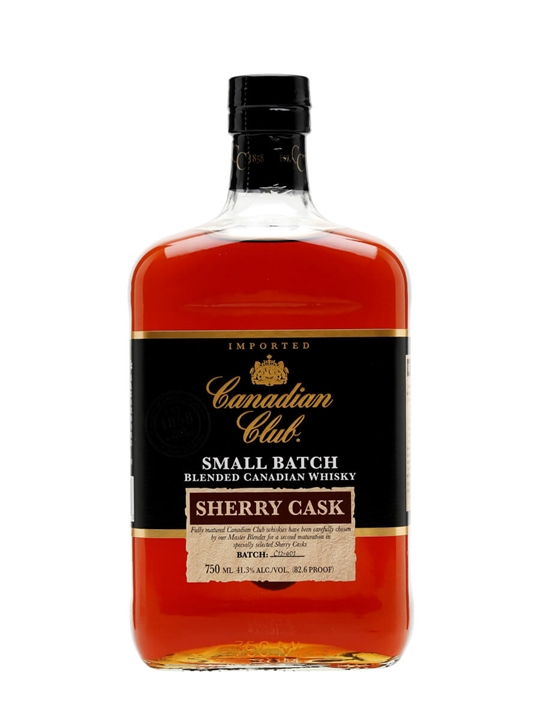 Canadian Club Sherry Cask Canadian Whisky
