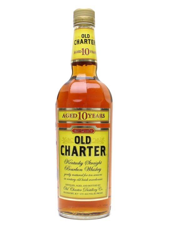 Old Charter 10 Year Old Kentucky Straight Bourbon Whiskey