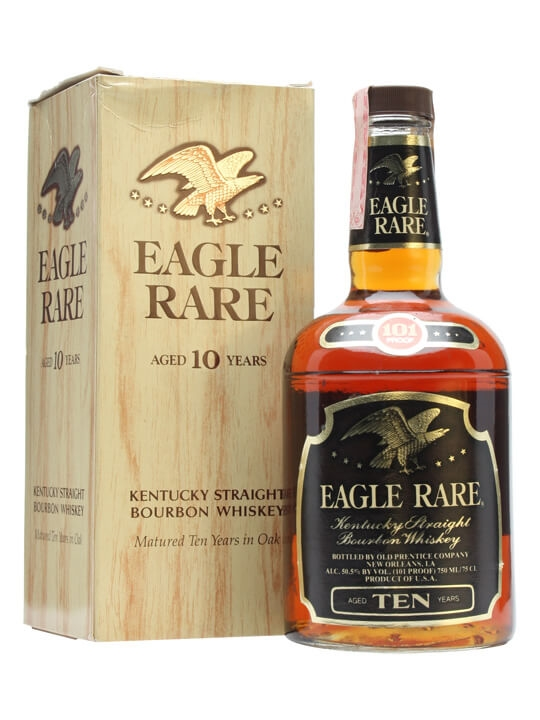 Eagle Rare 10 Year Old / Bot.1980s Kentucky Straight Bourbon Whiskey