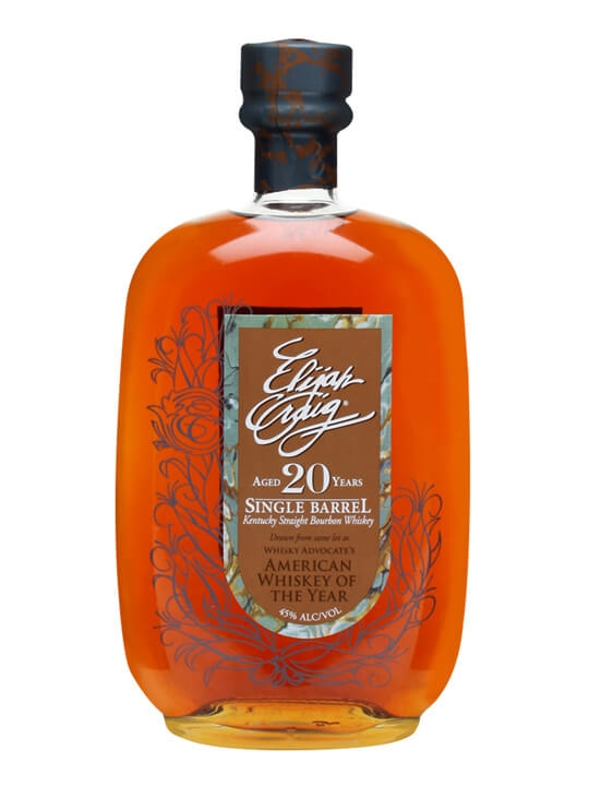 Elijah Craig 20 Year Old Kentucky Straight Bourbon Whiskey