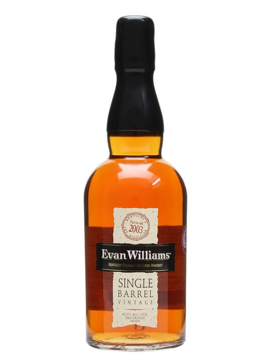 Evan Williams Single Barrel Kentucky Straight Bourbon Whiskey