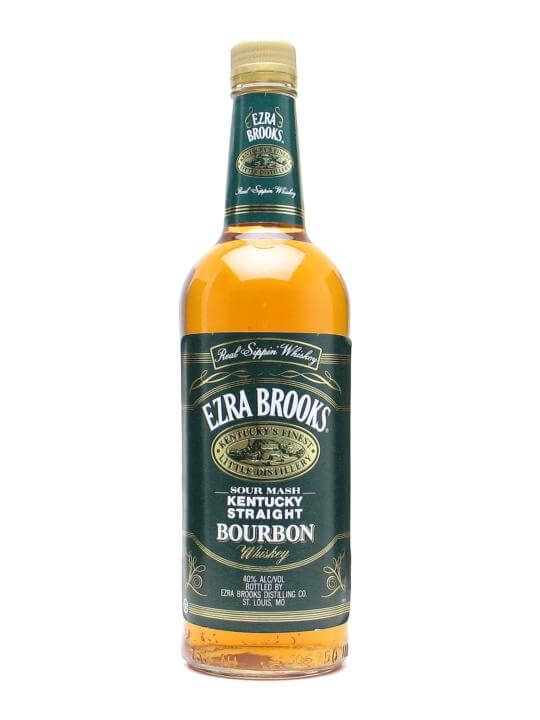 Ezra Brooks Green Label Kentucky Straight Bourbon Whiskey