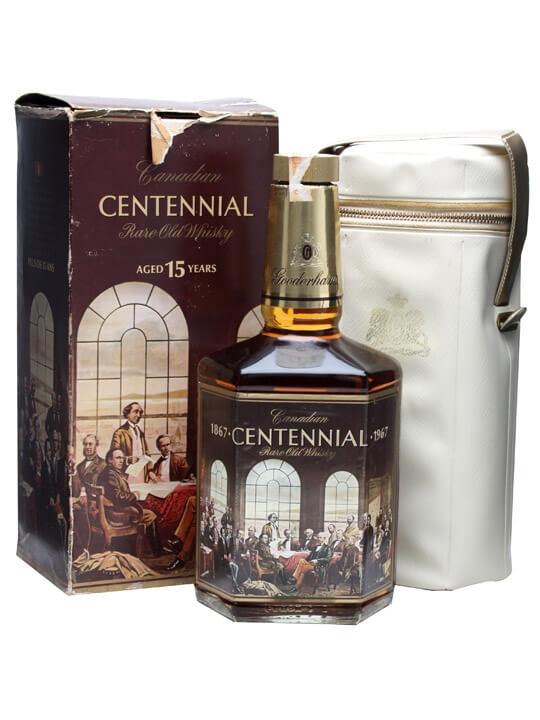 Gooderham's 15 Year Old Centennial / Bot.1967 Canadian Whisky