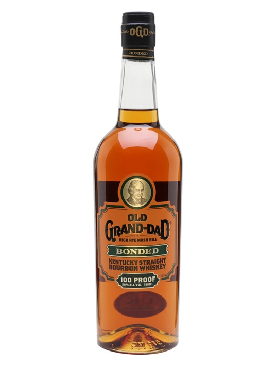 Old Grand Dad / 100 Proof / Bonded Kentucky Straight Bourbon Whiskey